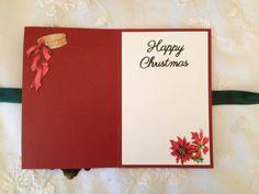 The twelve Days of Christmas masculine card inside