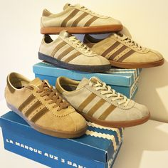 finest selection e3386 4249d beige Adidas - Riviera - 2 styles - AS800 -Florida - Tobacco