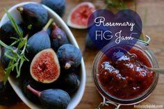 Rosemary Fig Jam - http://holisticsquid.com/rosemary-fig-jam/