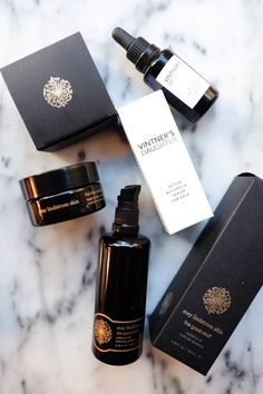 a few new organic skincare favorites... from may lindstrom + vintner's daughter - the stripe