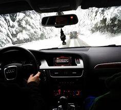 grafika car, snow, and winter