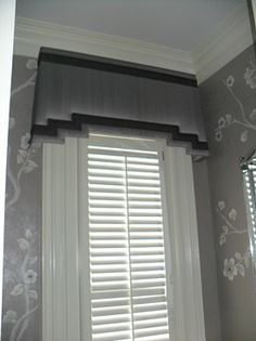 Valences For Windows, Window Cornices, Curtains With Blinds, Window Coverings, Window Treatments, Bedroom Curtains, Plywood Furniture, Curtain Pelmet, Drapery