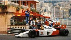 Ayrton Senna wins once more for McLaren-Honda in the 1991 Monaco Grand Prix.
