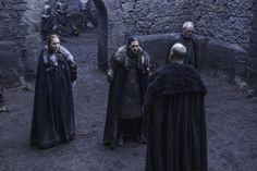 "Sansa, Jon & Davos meeting with Lord Glover. (6x7 ""The Broken Man"")"