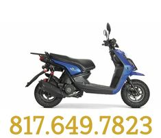 Scooter 50cc, Scooters For Sale, Mopeds, Motorcycle, Vehicles, Stuff To Buy, Biking, Car, Motorcycles
