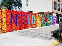 One of Olek's #opencanvas projects in Brooklyn.