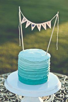 MR & MRS Wedding Cake Topper, custom color glitter hearts, bakers banner on Etsy, $18.00