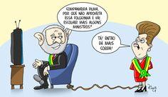 """""""É melhor perder ministérios do que a Presidência"""", justifica Lula."""