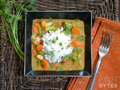 Coconut Vegetable Curry, Budget Bytes