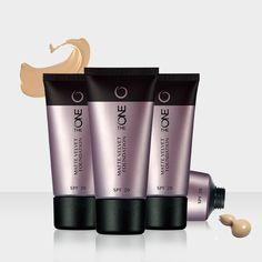 Maquillaje Matte Velvet SPF 20 The ONE. Maquillaje líquido de textura ligera y cobertura media con efecto anti-brillos. Formulado con Tecnología Anti-Shine que controla el exceso de grasa de la piel sin renunciar a su sensación de confort. Con factor de protección SPF 20.