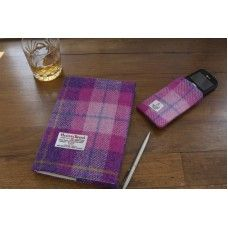 Harris Tweed Covered Diary/Notebook made by Sheep To Chic Ltd in Perth and Kinross - A5 Diary, Diary Covers, Diary Notebook, Harris Tweed, Office And School Supplies, Picnic Blanket, Stationery, Perth, Sheep