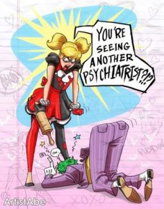 Harley and Joker Seeing another by ArtistAbe on @DeviantArt
