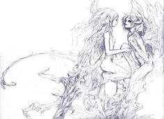 Dragon Age Nagi and Saki by redjuice999 on DeviantArt