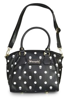 Skull-A-Dot Crossbody Bag by Loungefly