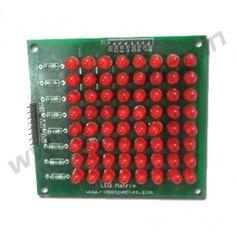 #LEDMatrix @ http://www.roboshop.in/display/led-matrix