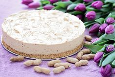 Creamy Peanut Butter Cheesecake Recipe - I Really Like Food Best Dessert Recipes, Easy Desserts, Sweet Recipes, Cake Recipes, Peanut Butter Cheesecake, Creamy Peanut Butter, Food Photo, Nutella, Ale