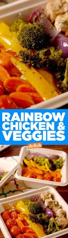 Rainbow Chicken & Veggies