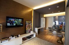 Collect this idea Maurício Karam completed the design of Apartment Leopoldo, a…