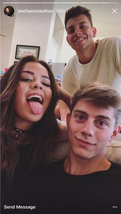 Tessa Brooks, Chance Sutton, & Anthony Trujillo (in the back)