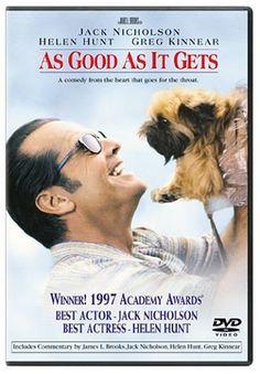 As Good As It Gets, 1998 Academy Awards (Oscars) Best Actress winner, Helen Hunt #Oscars #AcademyAwards  #GoodMovies #Movies