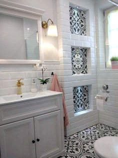 Bathroom Design Small, Bathroom Interior Design, Bathroom Renos, Bathroom Renovations, Dream Bathrooms, Beautiful Bathrooms, Bath Remodel, Bathroom Inspiration, Rustic Table