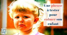 Apaiser son enfant quand il se fâche avec une question Discipline Positive, Education Positive, Stress, Baby Love, Attitude, Psychology, Positivity, Movie Posters, Kids
