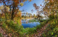 Golden autumn in Ukraine