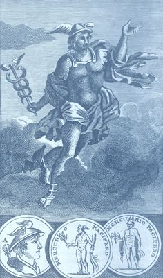 Mercury, god of commerce, merchandise and merchants