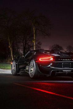 Petite sortie nocturne avec une belle #Porsche , que demander de plus ? :) #voiture #car #luxe