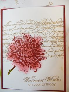 Blooming With Kindness Birthday Card