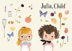Julie Morstad- julia, child - 1