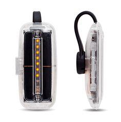 SunSprite. Tracks sunlight intake, measures UV exposure. Clip-on, solar-powered. From GoodLux Technology. #light, #UV