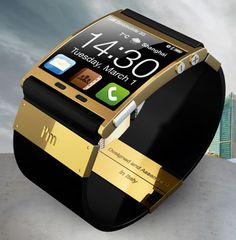 I've been drooling over this one for years...soon, my precious...  It's a touchscreen smart watch!