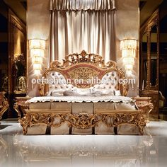 Bed In Living Room, Study Room Furniture, Luxury Interior Design Kitchen, Luxury Furniture, Luxurious Bedrooms, Classic Dining Room, Complete Bedroom Set, Furniture Styles, Luxury Rooms