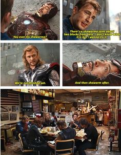 I want to be an Avenger. Or maybe a waitress at the Shwarma joint. Or both. Both. Both is good.