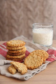 Havrekjeks - My Little Kitchen Little Kitchen, Nom Nom, Cereal, Food And Drink, Baking, Breakfast, Mittens, Morning Coffee, Bakken