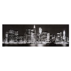 Toile New York nuit