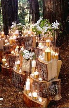 Wedding Magazine - 13 ways to transform an outdoor wedding v.-Wedding Magazine – 13 ways to transform an outdoor wedding venue … Wedding Magazine – 13 ways to transform an outdoor wedding venue More - Wedding Reception Lighting, Outdoor Wedding Venues, Wedding Ceremony, Party Outdoor, Outdoor Wedding Decorations, Outdoor Rustic Wedding Ideas, Candlelight Wedding, Outdoor Night Wedding, Woodland Wedding Venues