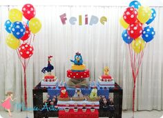 Galinha Pintadinha #party #festa #mamaearteira: