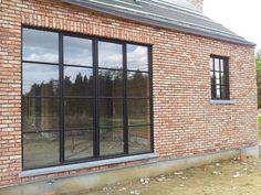 Steellook ramen in zwarte structuurlak - nieuwbouw - Adr Construct (3)   by ADR Construct