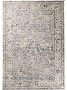 Orientteppich modern  benuta Teppich Vintage Swing Blau 140x200 cm: Amazon.de: Küche ...