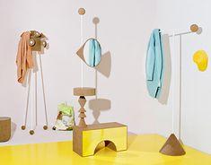 Anna Štěpánková / Academy of Arts, Architecture and Design in Prague / CZ New Work, Color Schemes, Furniture Design, Anna, Artsy, Interior Design, Creative, Projects, Behance