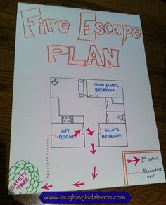 Laughing Kids Learn: CFA Fire Ready and creating a family fire escape plan