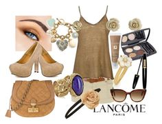 """""""Bronze Dream"""" by pinksparklesurprise ❤ liked on Polyvore featuring Lancôme, L.A.M.B., Jane Norman, Nili Lotan, Marc Jacobs, Opening Ceremony, Juicy Couture, Yves Saint Laurent, Betsey Johnson and Kate Spade"""