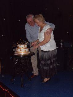 50th Wedding Anniversary Cake Cutting!