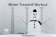 Winter Treadmill Workout