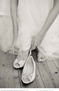 comfortable and beautiful wedding shoes!