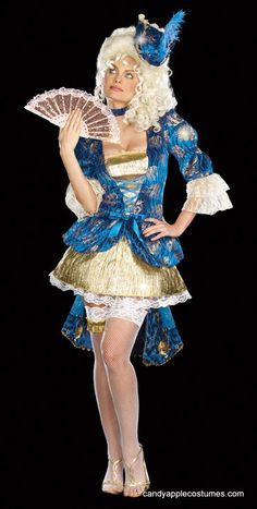 Dreamgirl Adult Royal Rendezvous Marie Antoinette Costume - Candy Apple Costumes - Deluxe Costumes