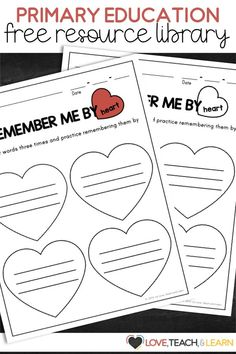 Free printables for your primary classroom. These free teaching resources include products for your lesson plans for spelling, sight words, handwriting and more! Tap into all my great resources for preschool, kindergarten, grade and homeschool. Learn To Write Cursive, Teaching Cursive, Kindergarten Handwriting, Teaching Phonics, Preschool Kindergarten, Teaching Writing, Teaching Resources, Elementary Teaching, Primary Teaching