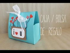 Cajita/bolsa de regalo - YouTube